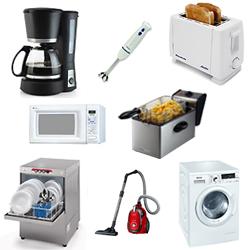 Vocabulario de imagenes en inglés de electrodomésticos