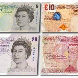 Pound sterling, la libra esterlina moneda de Reino Unido