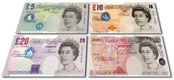 Mais conversões de libra esterlina (GBP)