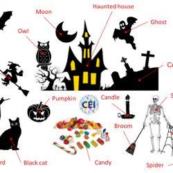 Happy Halloween, Feliz Halloween en inglés