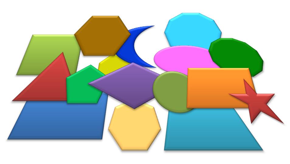 Geometric Shapes, las figuras geométricas en inglés