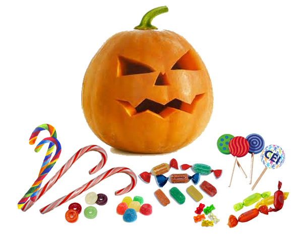 Trick or treat it's Halloween, Vocabulario de truco o trato de Halloween