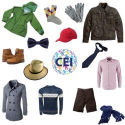 Men's Clothing (Ropa de hombre en inglés)
