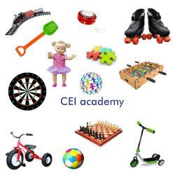 Toys (Vocabulario en imágenes de Juguetes en inglés)