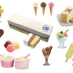 El vocabulario de helados en inglés